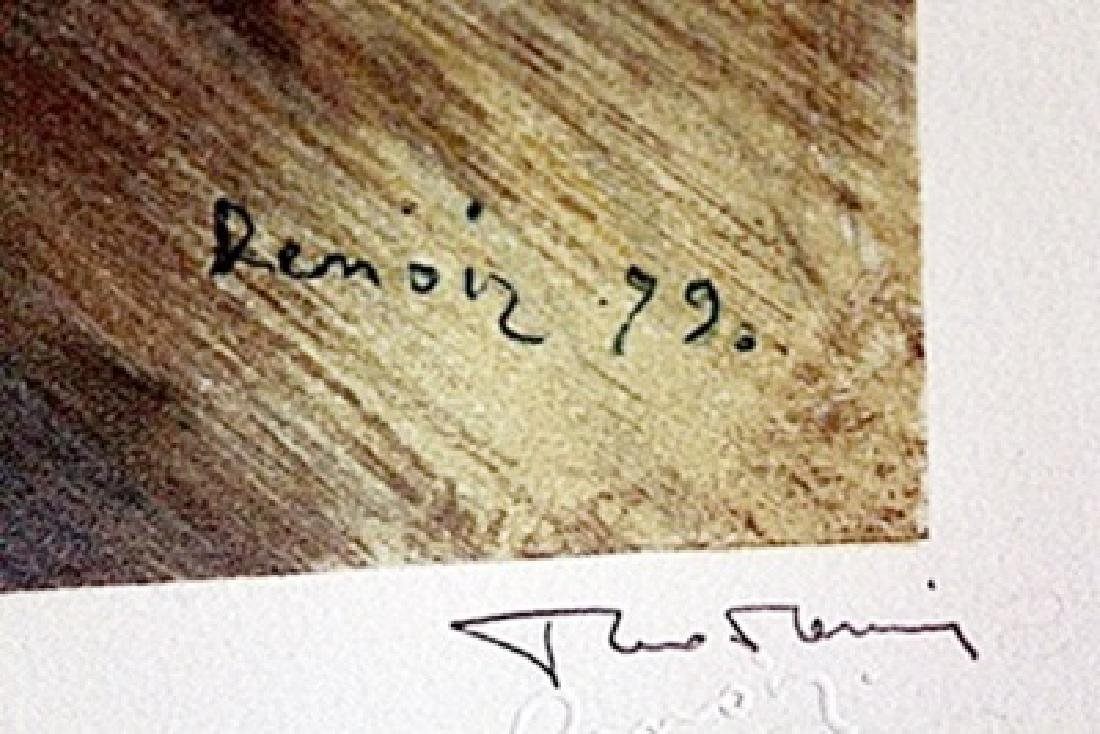 Lithograph  Renoir. - 2