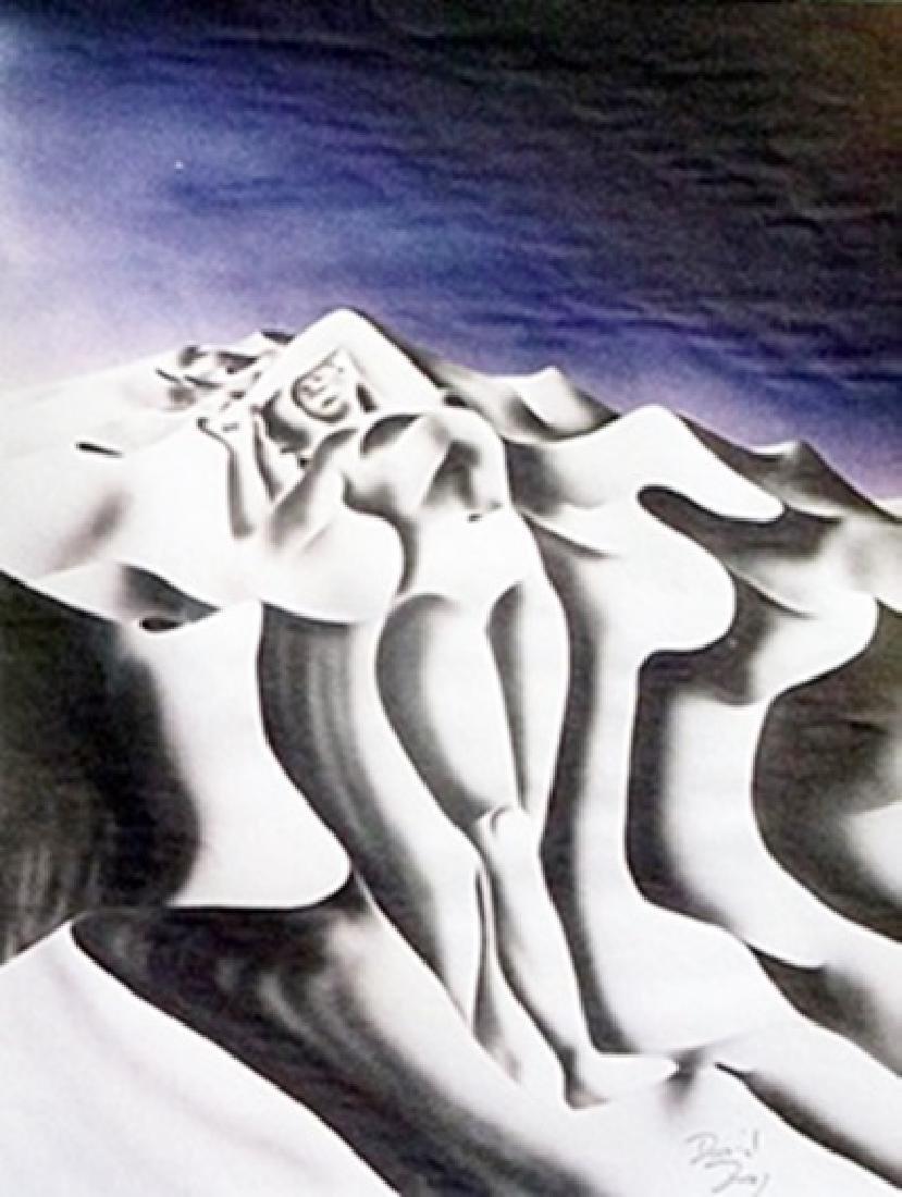 Lithograph - Dusk - David Dory