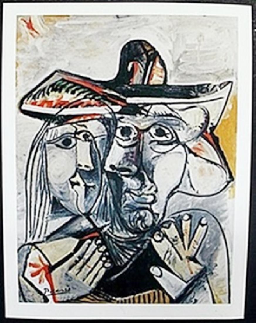 "Lithograph ""Kissing Faces""  Pablo Picasso"