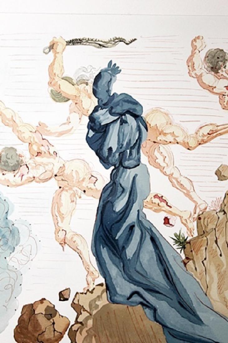 Dali - Hell Canto 15 - The Divine Comedy - 2