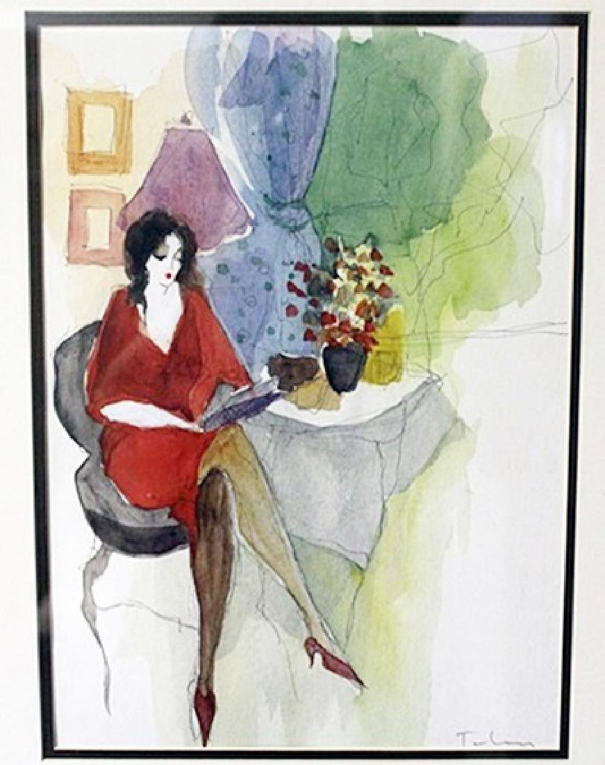 """WOMEN WITH A BOOK"" by ITZCHAK TARKAY"
