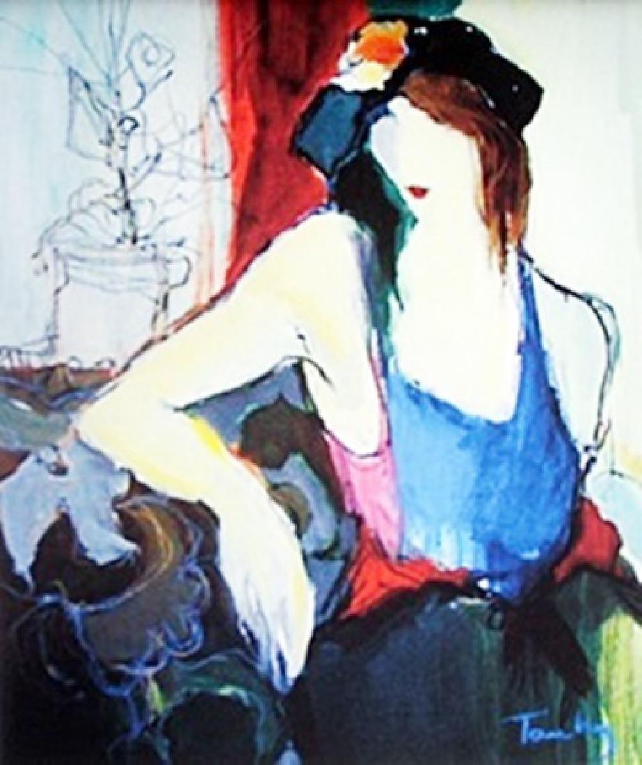 Lithograph - Itzchal Tarkay