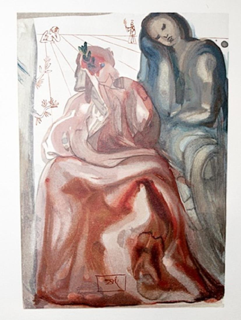 Dali - Purgatory Canto 31 - The Divine Comedy