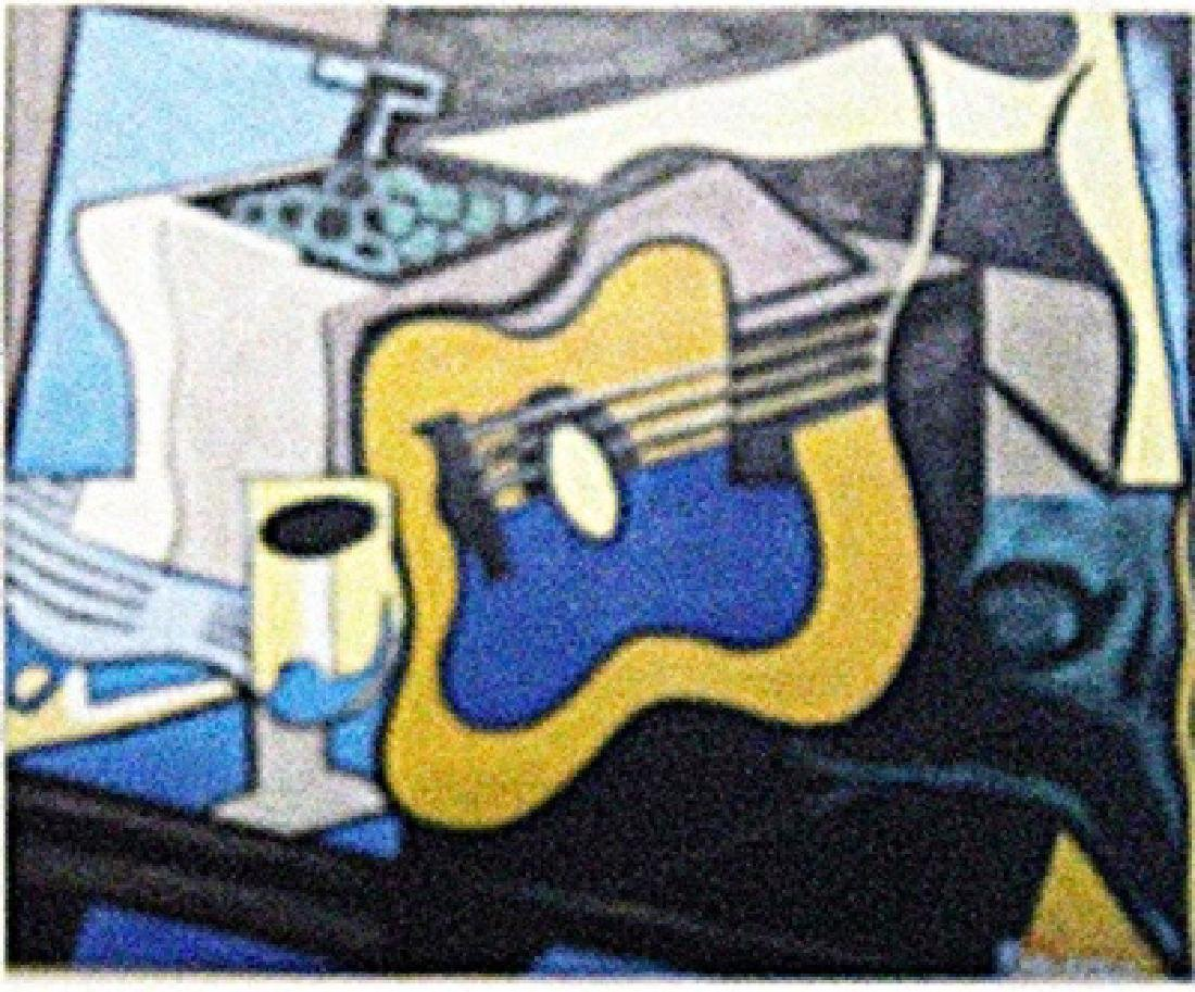 Pablo Picasso - La Guitare