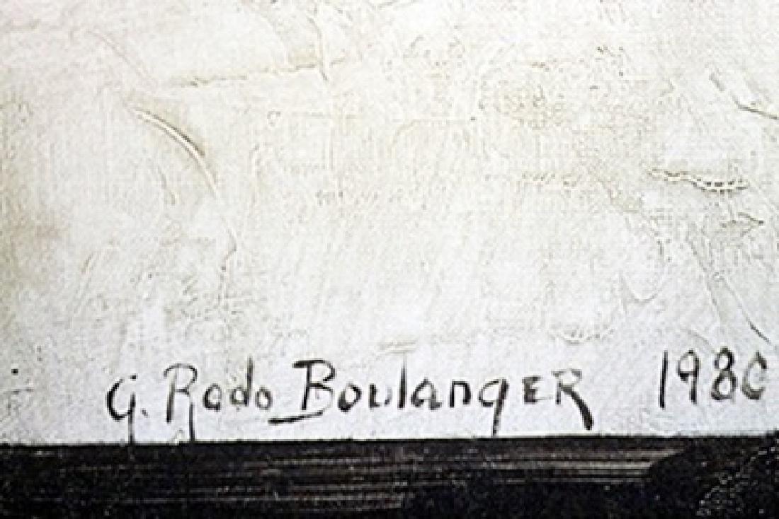 Lithograph - Le Chat De La Marie - G. Rodo Boulanger - 2