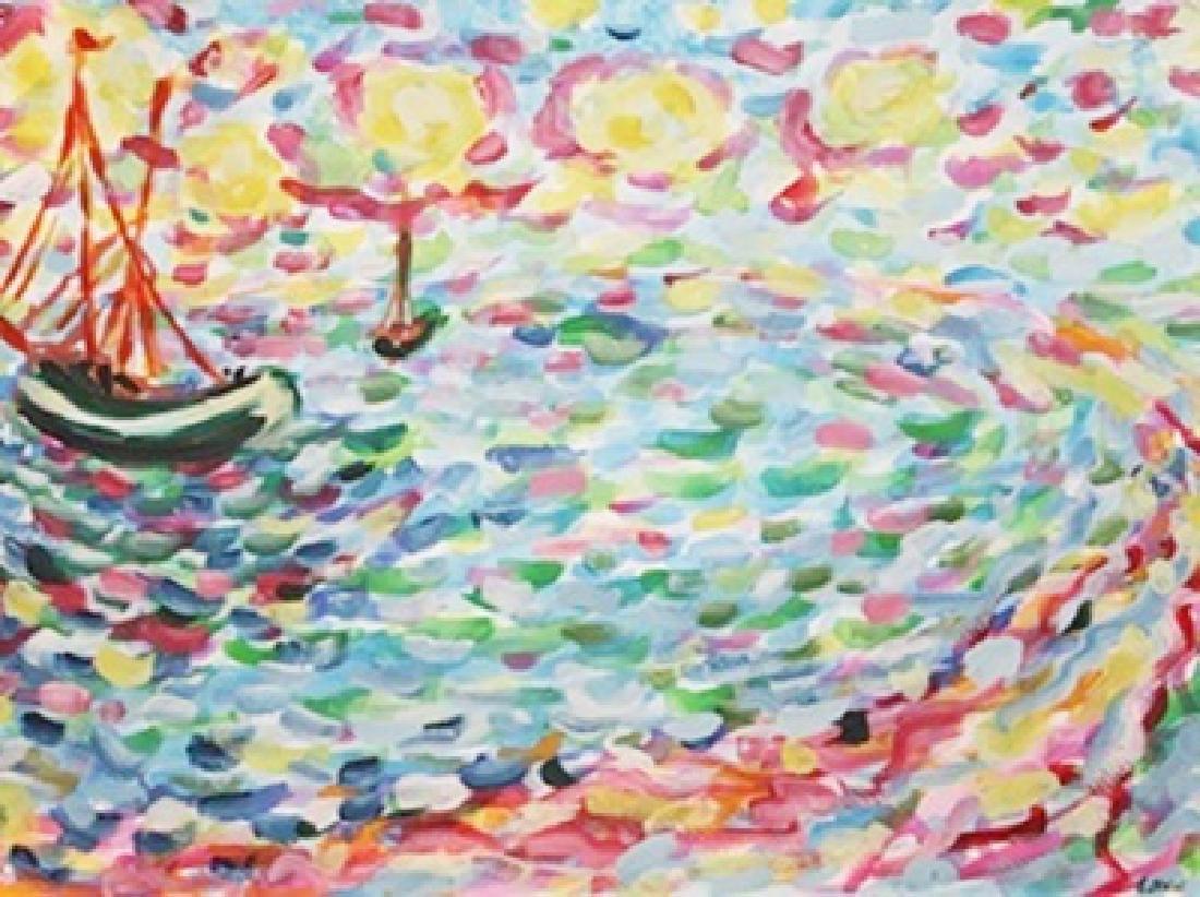 Watercolor On Paper - Emil Nolde