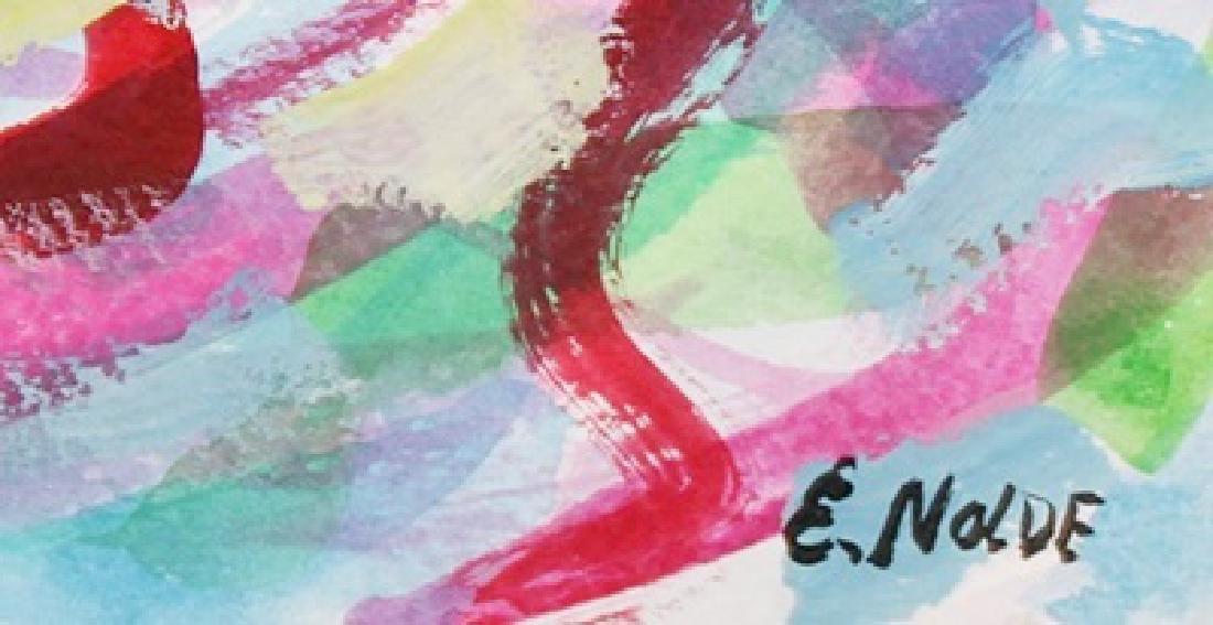 Watercolor On Paper - Emil Nolde - 3