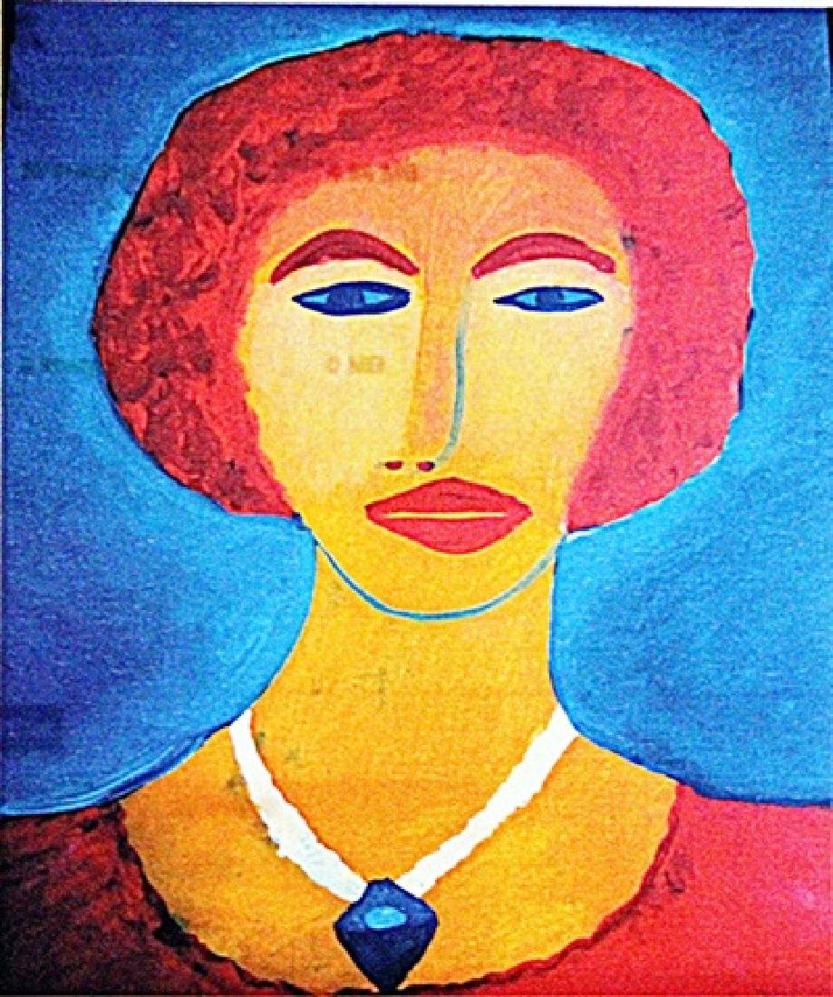 Emil Nolde - Portrait of a Woman