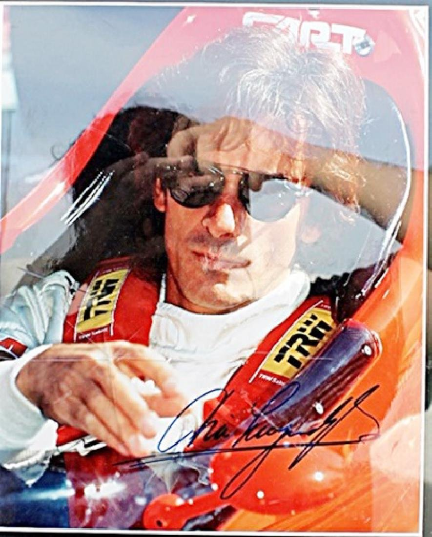 Authographed Arie Luyendyk - Indycar Racing