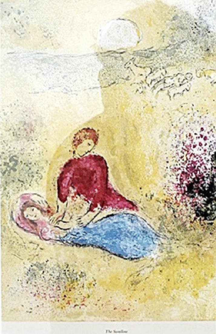 The Swallow - Marc Chagall - Lithograph