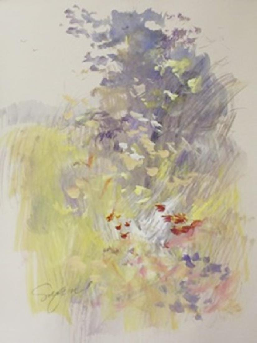 """Original Watercolor on Paper """"Find Days of Fall"""" by"""