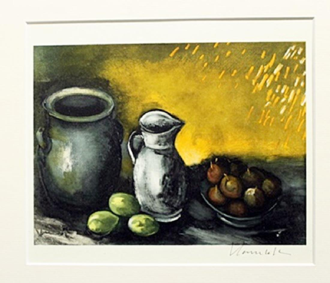 Still Life With Jugs - Maurice De Vlaminck - Lithograph