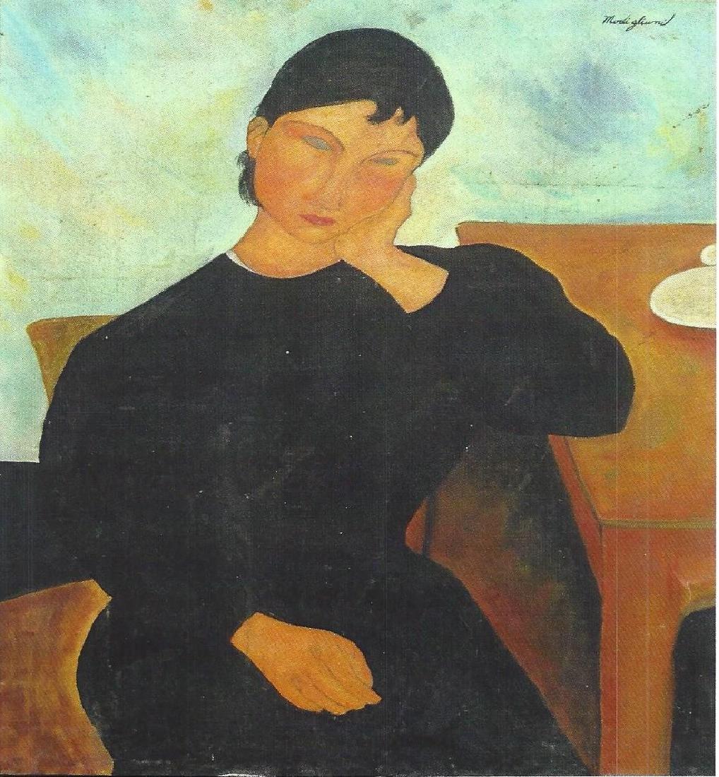 The Jewish  - Amadeo Modigliani - Oil On Canvas