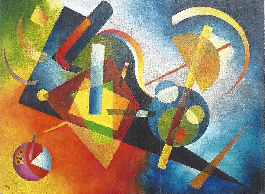 Composition III - Wassily Kandinsky - Oil On Canvas