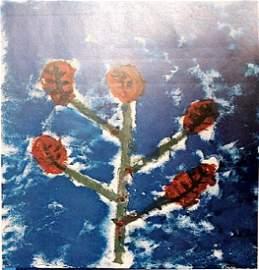 The Tree of Life - Anselm Keifer - Oil on Paper