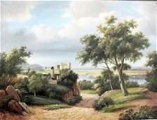 Lakes Pathway - Canvas