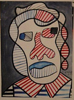 Jean Dubuffet - Woman Head