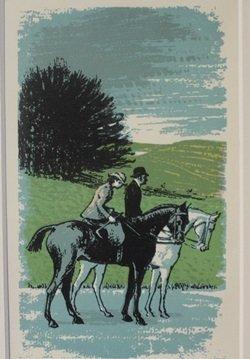 Daytime Stroll - Lithograph - Lynton Lamb