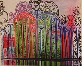 Raoul Dufy - The Blue Door