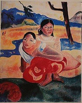 Paul Gauguin - Two Woman In Thaiti