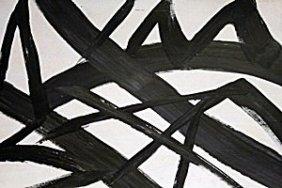 Painting V - Oil On Paper - Franz Kline