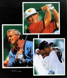"Print ""golf Legends"" After Tim Cortes"