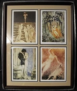 Lithographs 4-in-1 By Louis Icart