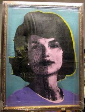 After Andy Warhol - Jackie Kennedy