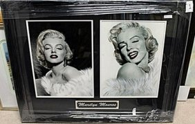 Black & White Portrait Of Marilyn Monroe Ar5724