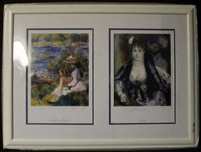 Lithographs 2-in-1 By Renoir