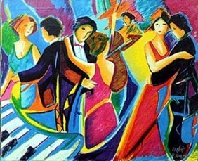 """""""the Tango Club"""" Giclee By Phillip Maxwell"""