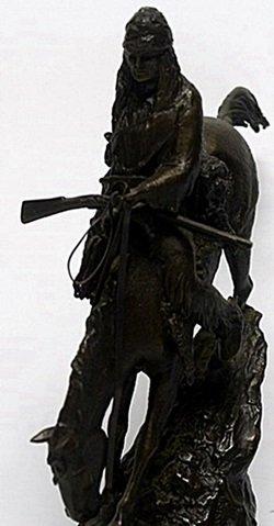 """""""Mountain Man"""" - Frederic Remington - 3"""