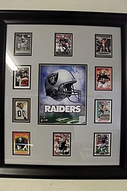 Raiders Framed Collectible