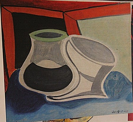 Juan Gris -Table With Window