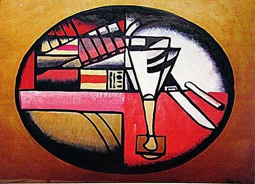 Juan Gris - The Table 1913 Oil