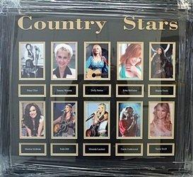"Memorabilia ""Country Stars (Females)"