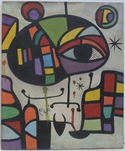 """El Ojo"" (Eye) - Joan Miro"