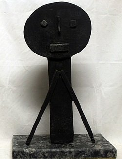 Patina Bronze Sculpture     Pablo Picasso