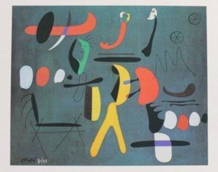 Lithograph By Joan Miro
