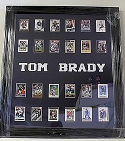 Tom Brady 24 Card Collection HE5074