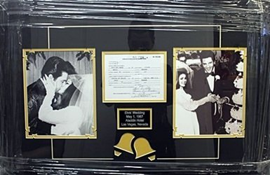 "Memorabilia ""Elvis Wedding"""
