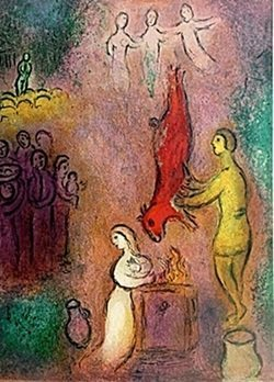 Marc Chagall - - Sacrifices Made to the Nymphs