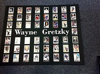 Beautifully Framed Wayne Gretzky Hockey Player Card