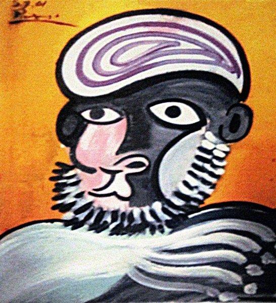 Pablo Picasso - Portrait of a Man
