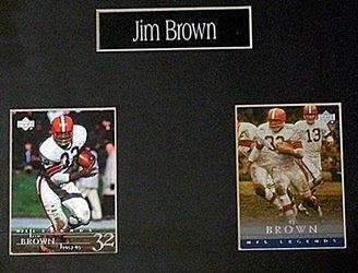 Jim Brown 4 Card Set HE5011 - 2