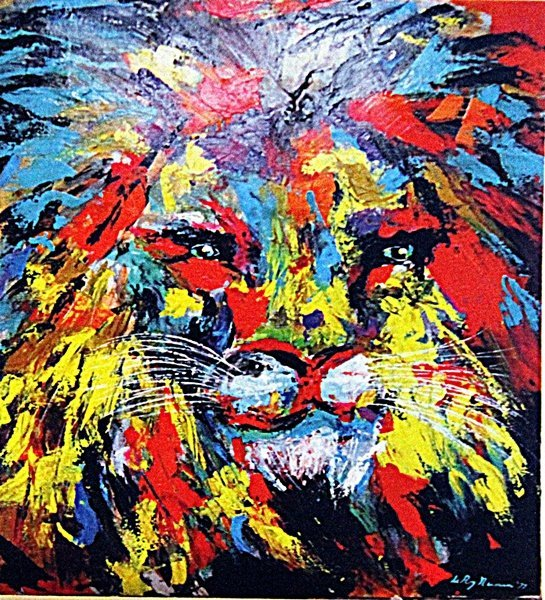 Leroy Neiman - The Lion