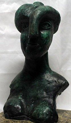 Patina Bronze Sculpture   Pablo Picasso - 2