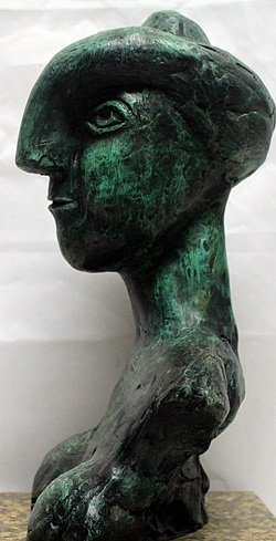 Patina Bronze Sculpture   Pablo Picasso - 3