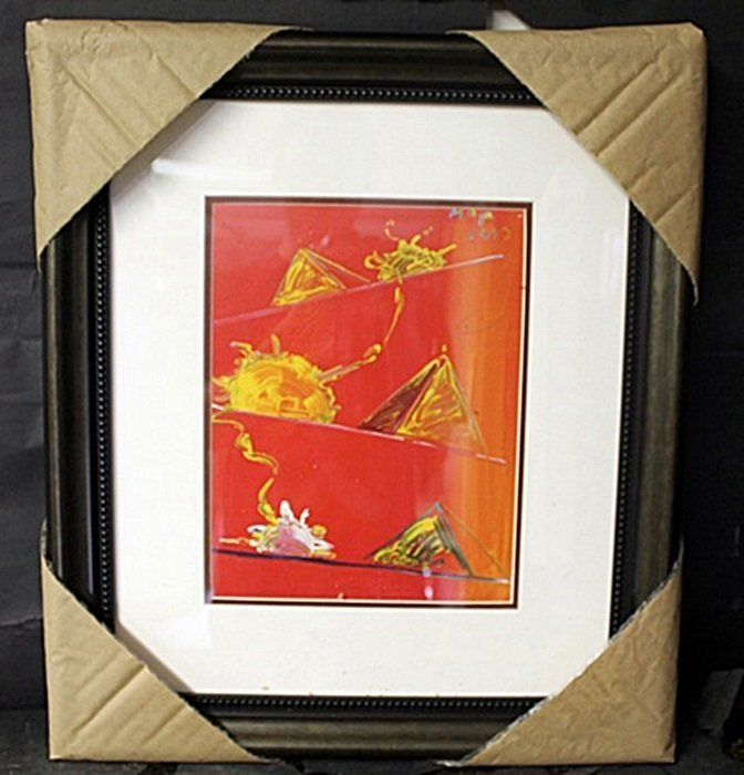 Authentic Peter Max Lithograph
