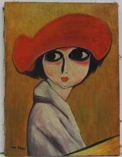 """Le Coquelicot"" (The Corn Poppy) after Kees Van Dongen"